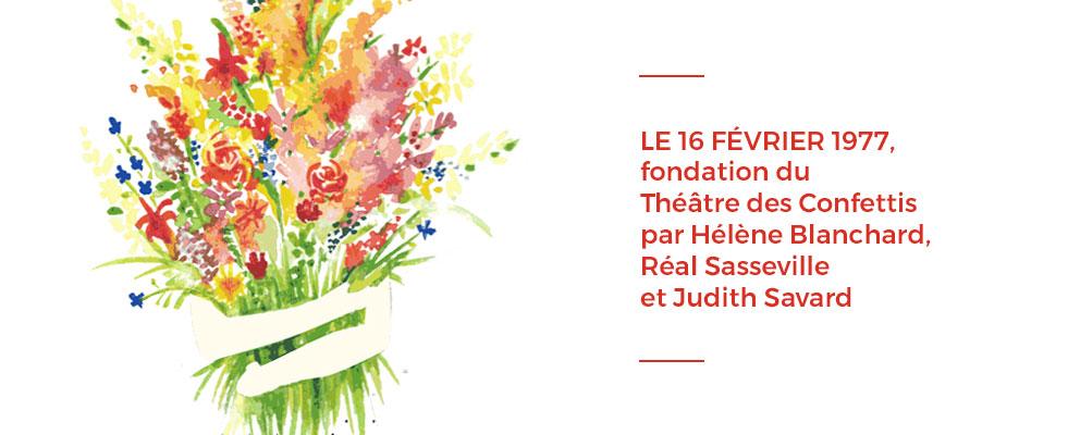 Fondation du théâtre des Confettis